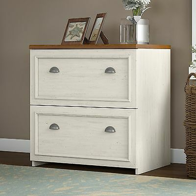 Fairview Lateral File Cabinet Antique White