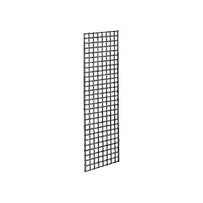 Econoco Commercial Grid Panels 2' Width x 6' Height Chrome (Pack of 3)