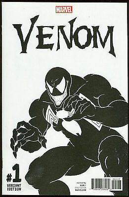 Venom #1 Todd McFarlane Black and White Sketch variant 1 per store