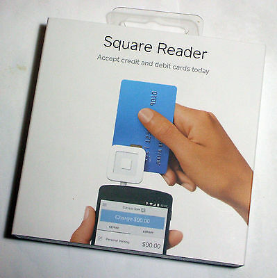 Square Reader - for chip and strip credit cards - new/sealed - posted free