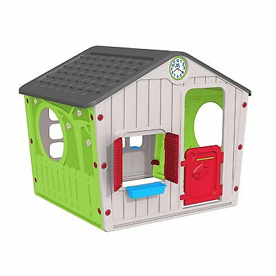 Chad Valley Indoor/Outdoor Plastic Wendy House - Multicoloured -From Argos ebay