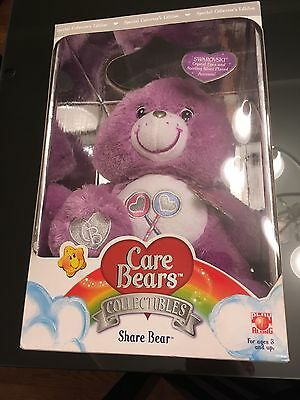 Care Bears Collectors Edition Share Bear with Swarovski Crystals