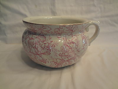 Vintage 1840's Porcelain Chamber Pot-B&M  Bagshaw Mier-Staffordshire England