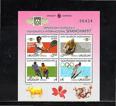 Uruguay 1997 ShanghaI 97 International Stamp Exhibition miniature sheet