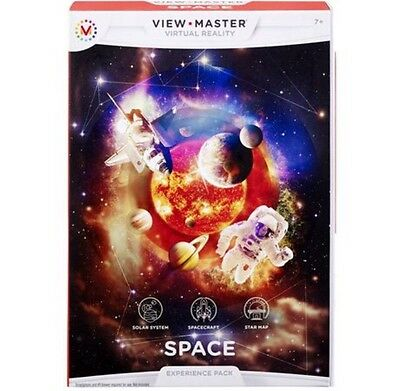 View Master Virtual Reality Space Experience Pack !!!NEW!!!