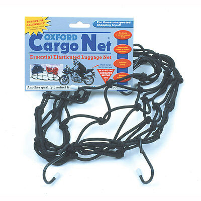 Motorcycle Oxford Cargo Net - 12 x 12 inches UK Seller