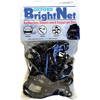 Motorcycle Oxford Bright Net - 15 x 15 inches UK Seller