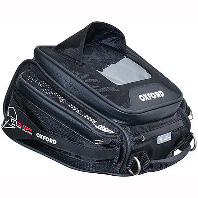 Motorcycle Oxford Q15R Lifetime Tank Bag Quick Release WP - 15 litres UK Seller