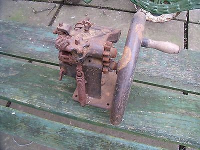 "Antique Leather Skiving Machine Hand Tool ""RODI""."