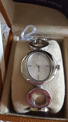 """New Oroton """"o"""" Collection Silver Bracelet Watch -Rrp$295.00"""