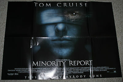 Minority Report / Attack of the Clones Star Wars movie poster double sided