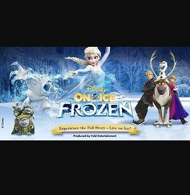 Frozen Disney On Ice X4 Tickets Melbourne Friday 7th July 3pm