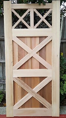 Picket Timber Fence GATE 2100 x 1000 KD Ash VICTORIAN COLONIAL GATES  RRP: $2K+