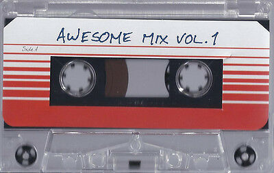 Guardians Of The Galaxy : Awesome Mix Vol. 1 - Sealed Cassette Tape