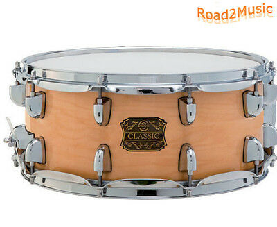 "Dixon Classic Wood Snare Natural Maple PDSCS654N 14"" x 6,5"" *TOP*"