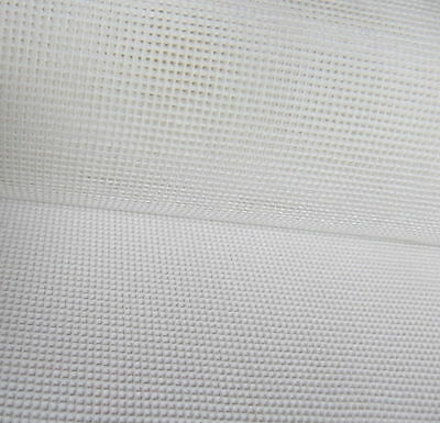 Interlock Mono Tapestry Canvas 14 count  Zweigart 50 x 100cm needlepoint- white