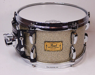 """Pearl MMX Master Custom Maple Tom 12"""" x 7""""  Silver Sparkle  *TOPZUSTAND*"""