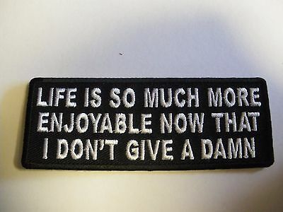 Life is so much more.........Patch Sew/Iron Rider biker lady rider Motorcycle