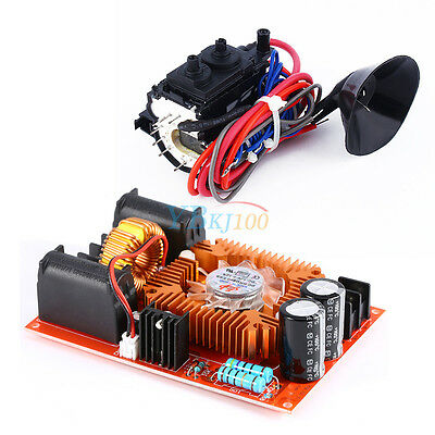 DC12V-30V ZVS Tesla Coil Flyback Driver + Ignition Coil For SGTC Marx Generator