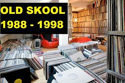 Old Skool Techno, Tech House, Detroit 1988-1998 Vinyl Collection Changed to MP3