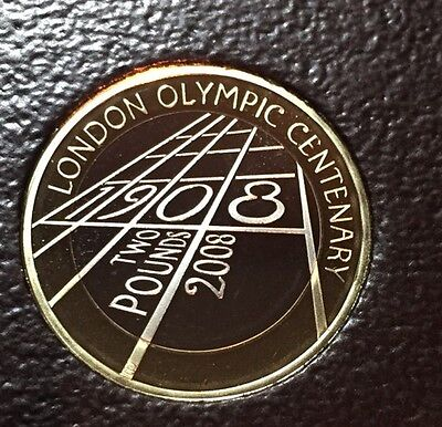 2008 £2 Coin Proof 100th Anniversary of the London Olympic Games