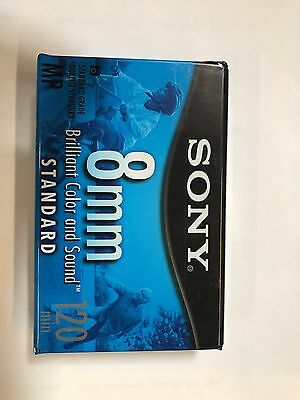 2 New SONY 8MM Standard CAMCORDER CASSETTE TAPES 120 Min P6-120MPL NTSC