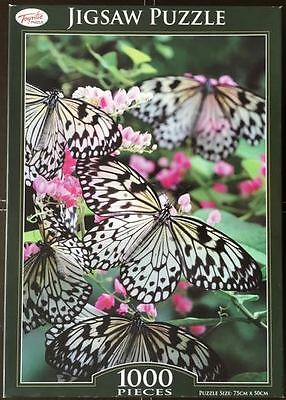 Butterfly - The Mango Tree Nymph - Jigsaw Puzzle 1000 Pieces