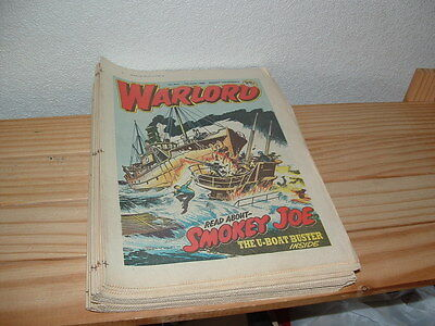 17 Warlord  Comics 1986 Consecutive Issues 611-627