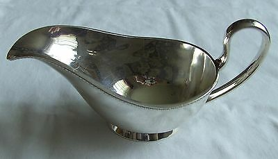 Vintage Sauce / Gravy Boat British EPNS Silver Plate Plated A1