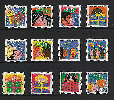 France 2015 - Happy New Year - Complete Set 12 - Fine Used