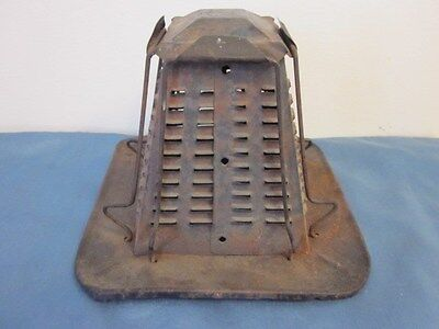 Vintage Tin Metal Toaster for Campfire - 4 Slices