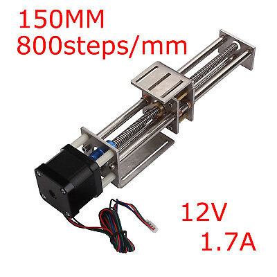 Macchina Per Incidere CNC Z Axis Slide 150MM DIY Milling Linear Motion 3 Axis