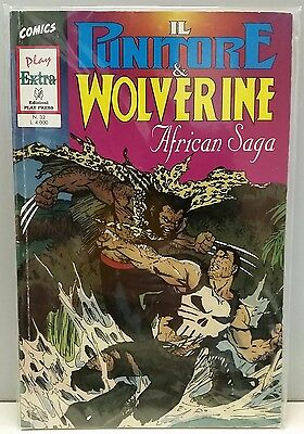 Il Punitore & Wolverine African Saga - Marvel Play Extra 32 Punisher Jim Lee 93