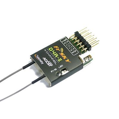FrSKY ACCST 2.4Ghz 4-Channel Receiver  D4R-II