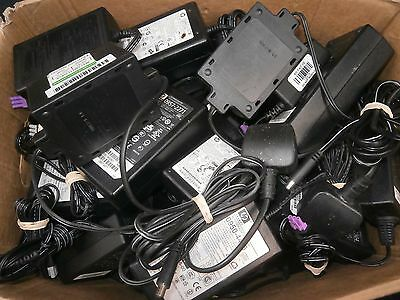 JOB LOT 64 x HP Kodak AC Power Supply Adapter For Printers 3 Pin Single Pin *