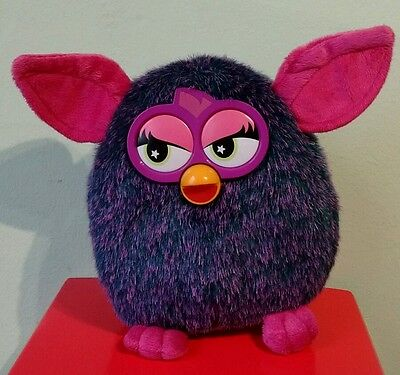 Furby 2013 Hasbro Purple And Turquoise And Pink⭐️RARE⭐️ Collectable Plush Toy