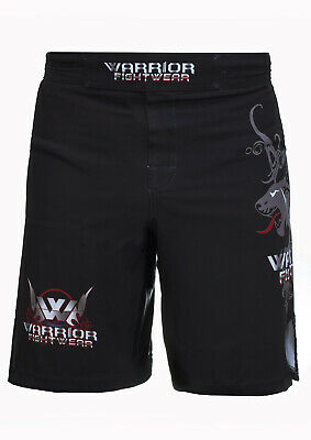 Panther Muay Thai Fight Shorts MMA Grappling Kick Boxing Trunks Martial Arts UFC