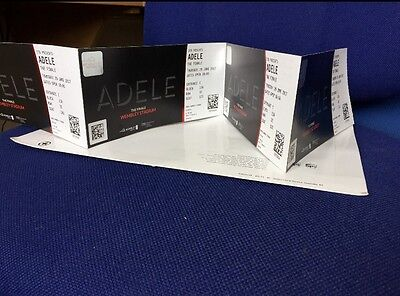 4 x Adele Tickets Seated Wembley Stadium 29th June