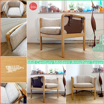 SWEDEN VINTAGE MID CENTURY MODERN EASY CHAIR ARMCHAIR SESSEL 60s DUX ATTRIBUTED
