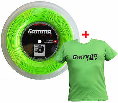 Gamma Moto Package lime 200 Meter Rolle