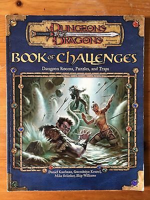Dungeons & Dragons - Book of Challenges: Dungeon Rooms, Puzzles, and Traps   d20