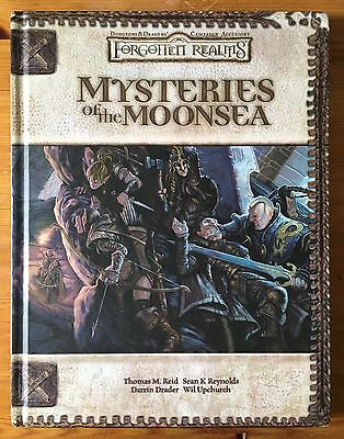Mysteries of the Moonsea - Dungeons & Dragons d20 Forgotten Realms