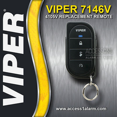 Viper 7146V 4-Button Replacement Remote Control New Style For 4105V Remote Start