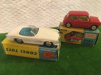 corgi joblot 2 boxed vehicles