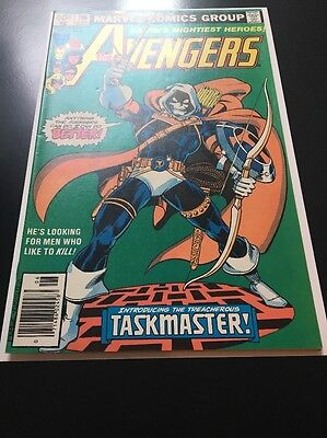 The Avengers 196 FIRST 1st Appearance of TASKMASTER!  HIGH GRADE KEY