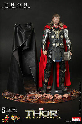 "Hot Toys - THOR The Dark World - 1/6 12"" 30cm - MISB NEU NEW (Marvel Avengers)"