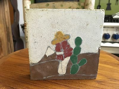 Antique MEXICAN TILE