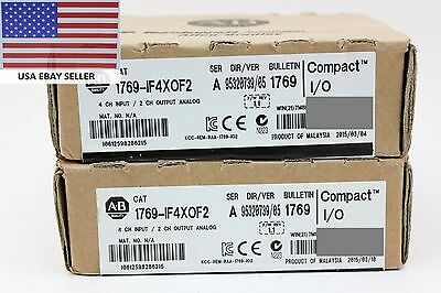 *Ships Today* Allen Bradley 1769-IF4XOF2 Analog Card *Sealed* 0F4X0F2 Ser A
