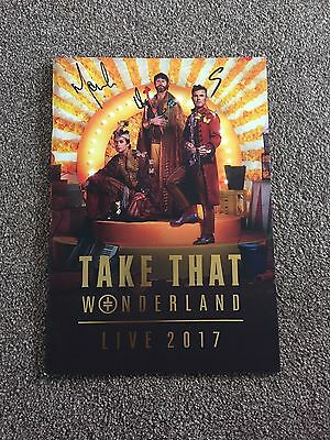 Take That Wonderland Signed VIP Programme