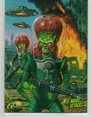 Mars Attacks! Occupation - Lot Of 101 Base Cards NM Topps 2016 Kickstarter